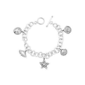 Chain charm bracelet by Hill to Street