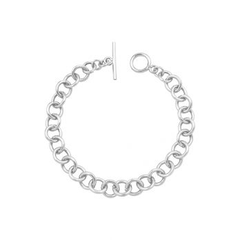 Silver chain bracelet by Hill to Street