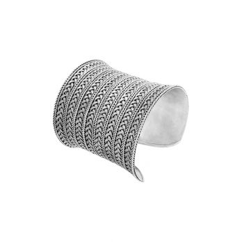 Bold statement cuff bracelet by Hill to Street